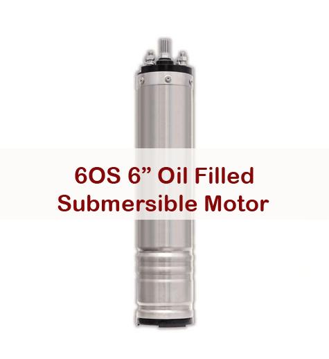 6OS Submersible Motor