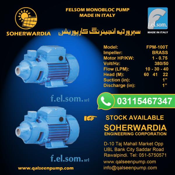 FCM-100-Felsom-Monobloc-Pump