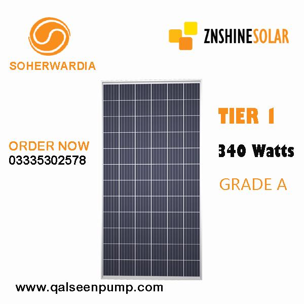 znshine solar 340 watts