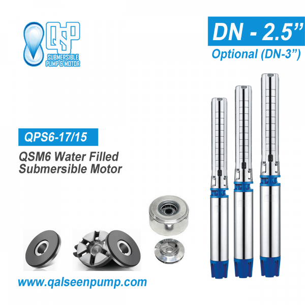 qsp6-17/15 submersible pump