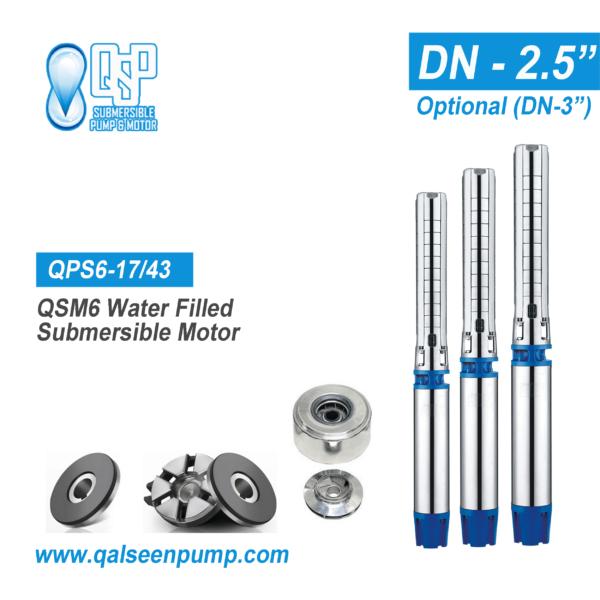 qsp6-17-43 submersible pump