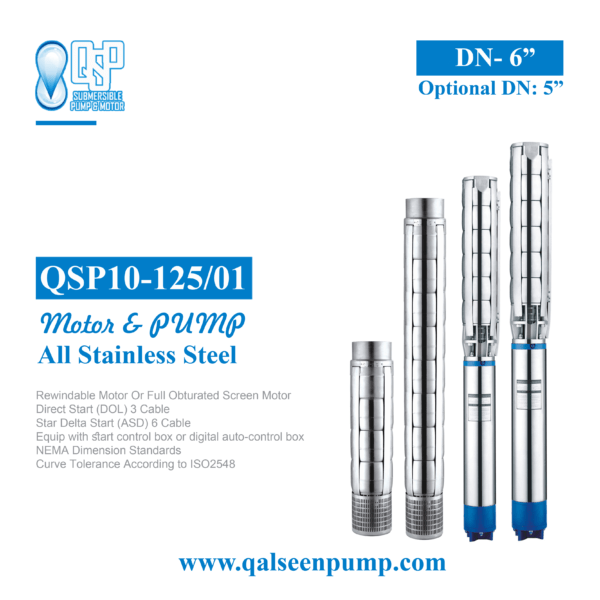 qsp10-125-01 submersible pump