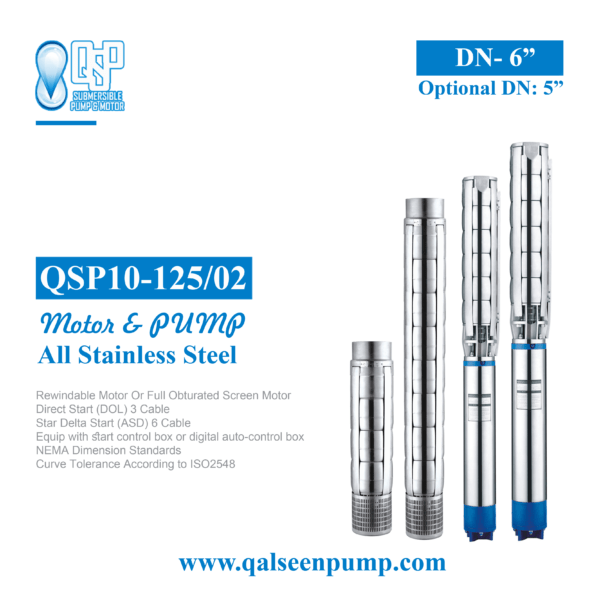 qsp10-125-02 submersible pump