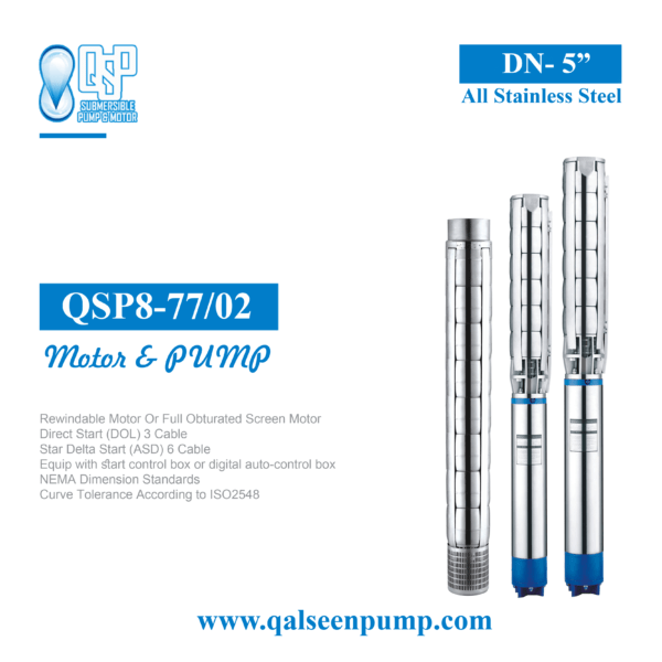 qsp8-77-2 submersible pump