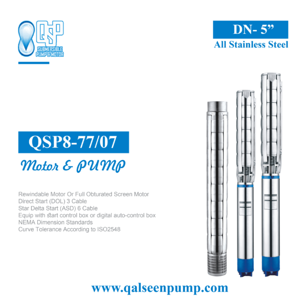 qsp8-77-7 submersible pump