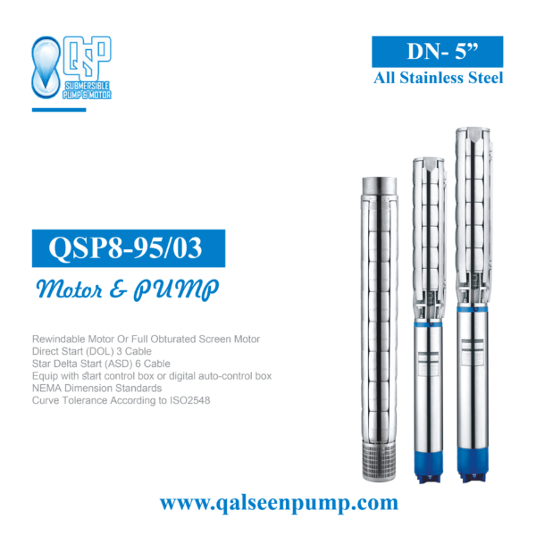 qsp8-95-3 submersible pump